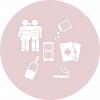 ícone dep química
